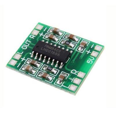 PAM8610 Stereo class D amplifier module
